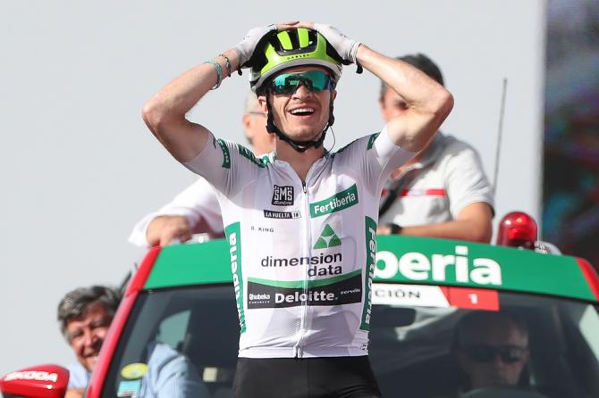 Benjamin King wins stage 9 Vuelta a Espana 2018