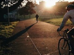 The benefits of morning cycling