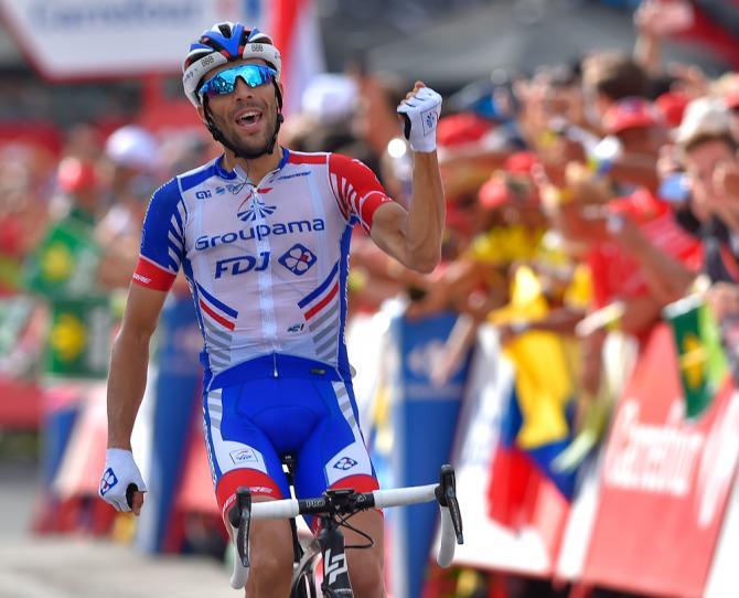 Thibaut Pinot wins stage 19 vuelta 2018