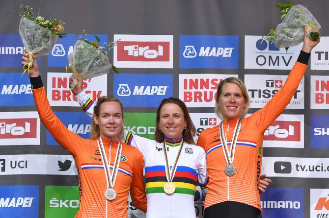 Annemiek van Vleuten wins time trial world championships 2018