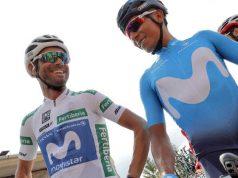 Alejandro Valverde and Nairo Quintana vuelta 2018