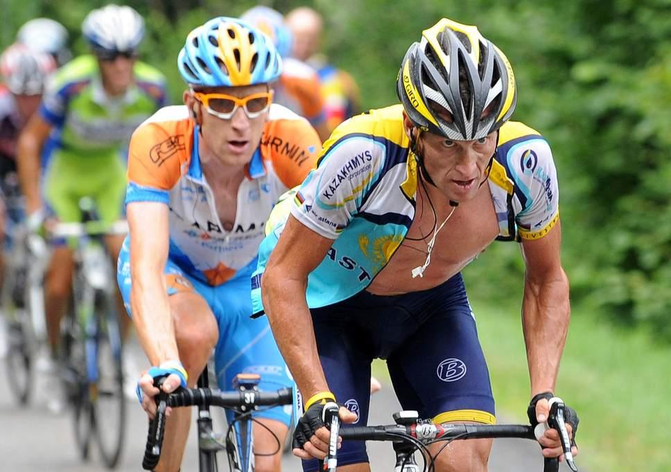 Bradley Wiggins Lance Armstrong