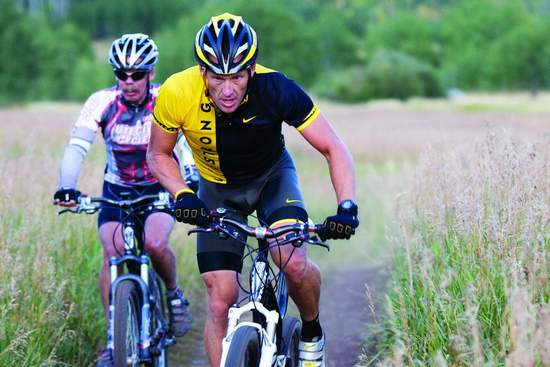 Lance Armstrong mountain bike