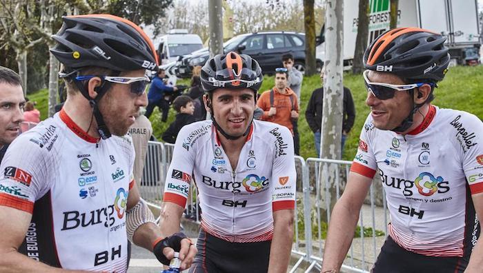 Burgos BH team suspension doping