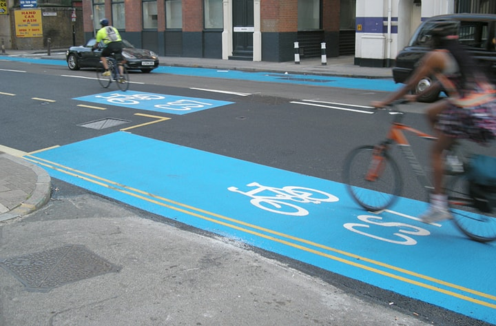 cycling lane make roads less safer study