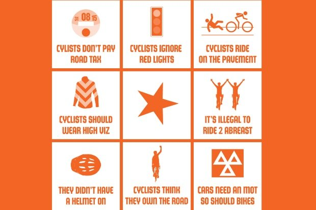 cycling bingo