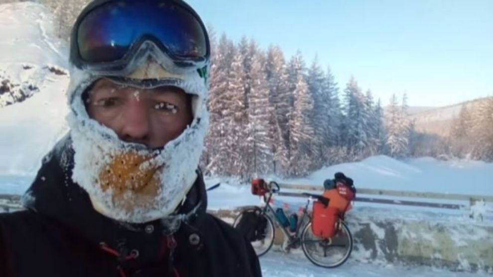 Cyclist rescued after attempting to ride across Siberia in winter