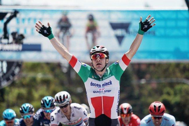 Elia Viviani wins Cadel Evans Great Ocean Road Race 2019