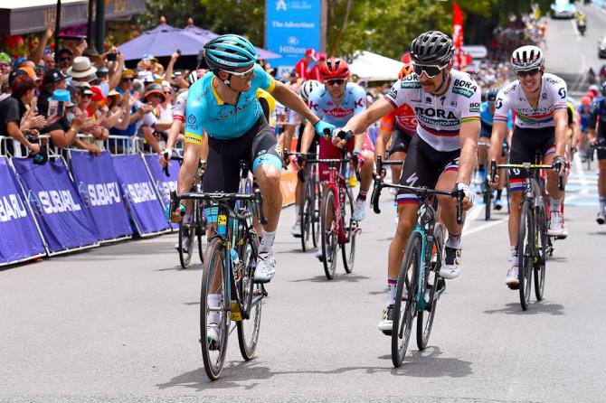 Peter Sagan Luis Leon Sanchez Tour Down Under 2019 stage 4