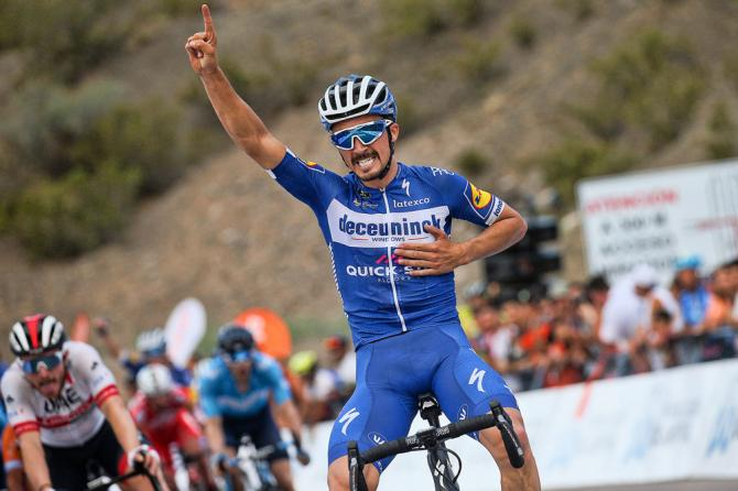 Julian Alaphilippe wins stage 2 vuelta san juan 2019