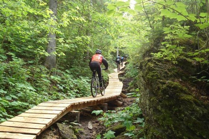 Slieve Bloo cycling trails