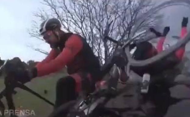 dani rovira crash