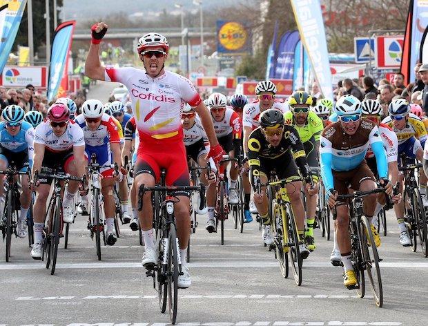 Christophe Laporte wins stage 2 etoile de besseges 2019