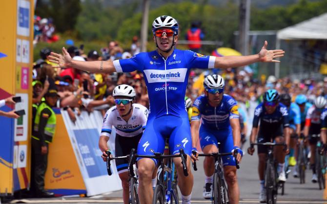 Alvaro Hodeg wins stage 2 Tour Colombia 2019