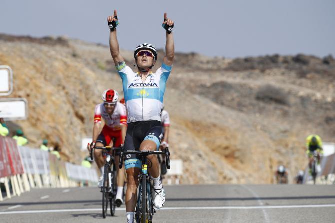 Alexey Lutsenko wins stage 3 Tour of Oman 2019