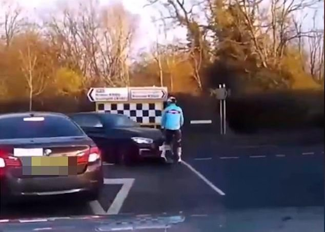 cyclist mental scars collision with car berkshire