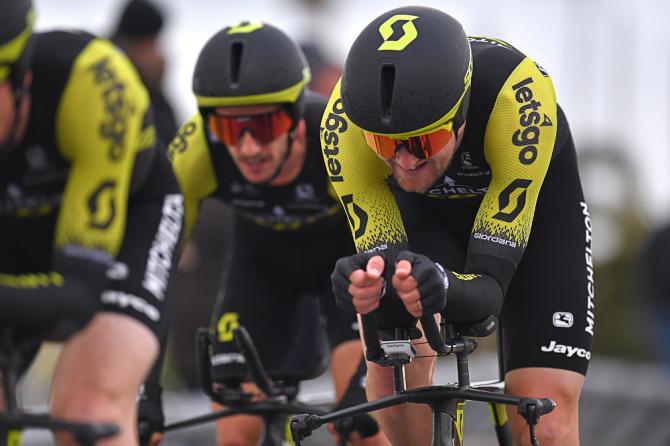 Mitchelton Scott wins Tirreno Adriatico stage 1 2019 Michael Hepburn