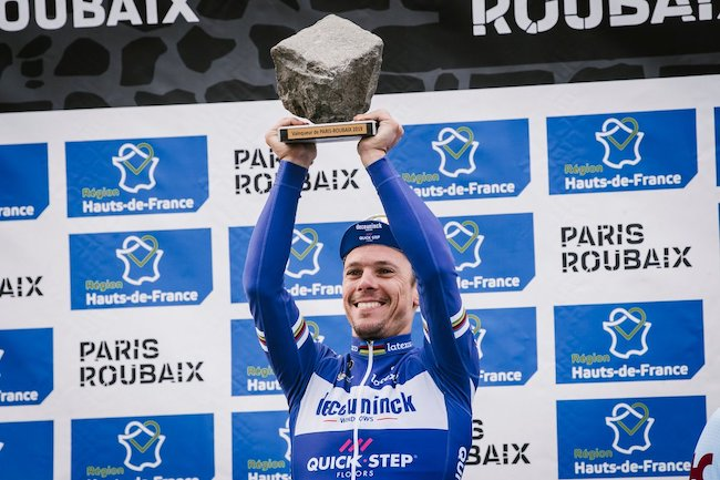 Philippe Gilbert prize money Paris Roubaix 2019