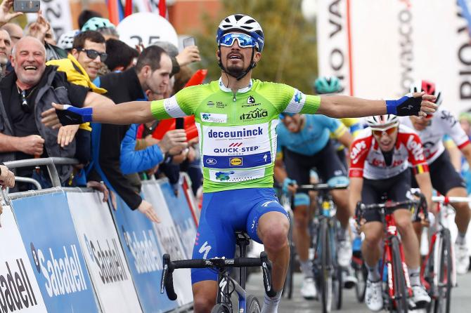 Julian Alaphilippe wins stage 2 Tour of the Basque Country 2019