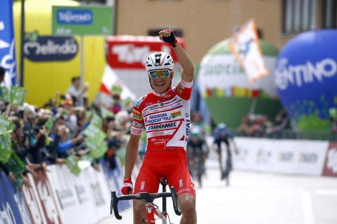 Fausto Masnada wins stage 3 Tour of the Alps 2019