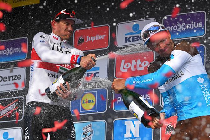 Oliver Naesen champagne bronchitis