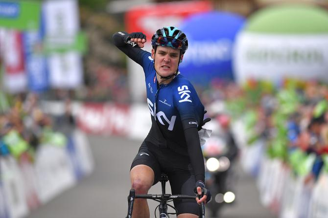 Pavel Sivakov wins stage 2 Tour of the Alps 2019