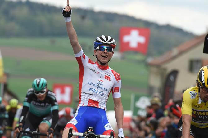 David Gaudu wins stage 3 Tour de Romandie 2019