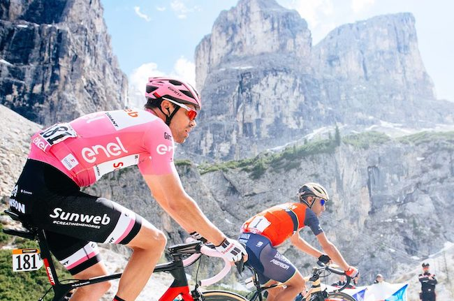 Tom Dumoulin Vincenzo Nibali Giro 2019