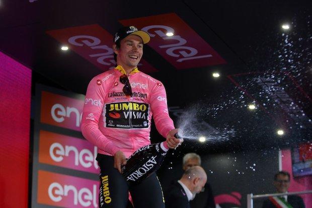 Primoz Roglic wins stage 1 Giro d'italia 2019