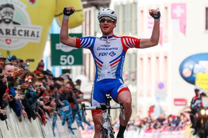 Stefan Küng wins Tour de Romandie 2019 stage 2