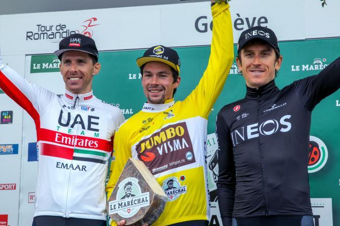 Primoz Roglic wins Tour de Romandie 2019