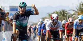 Pascal Ackermann wins stage 1 Tirreno Adriatico 2020